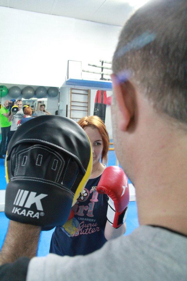 Entreno Boxeo Siluets Reus
